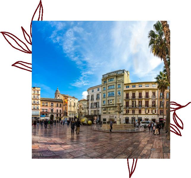 Plaza de la Constitución Málaga